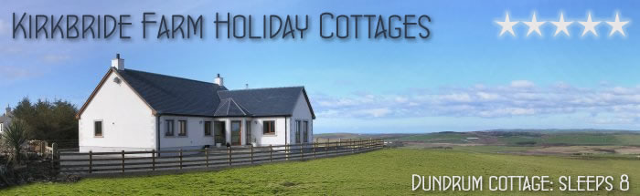 Dundrum Cottage - Luxury Holiday Cottage in Scotland