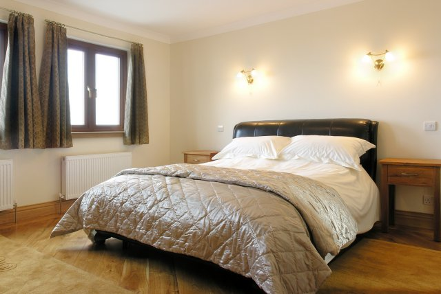 Double Bedroom in Dundrum self catering holiday cottage in Scotland