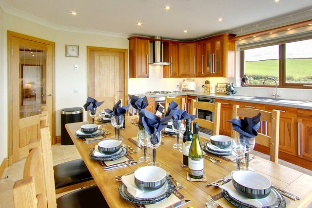 Inchmalloch self catering holiday cottages for Luxury kitchens scotland