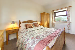 Double Bedroom in Cotthouse self catering holiday in Scotland